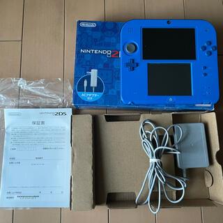 ニンテンドー2DS(ニンテンドー2DS)の値下げ!Nintendo 2DS本体 美中古ブルー(携帯用ゲーム機本体)