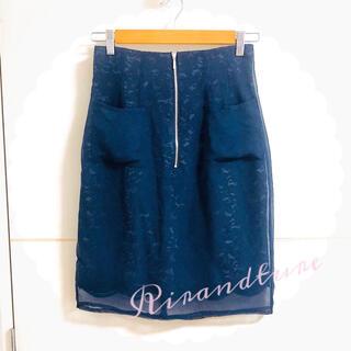リランドチュール(Rirandture)のリランドチュール♡オーガンジーレースタイトスカート(ミニスカート)