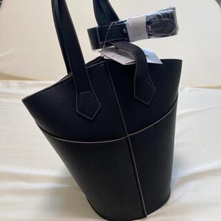 シマムラ(しまむら)の新品 未使用 完売 2WAY キリカエ  黒 ブラックしまむら ショルダーバッグ(ショルダーバッグ)