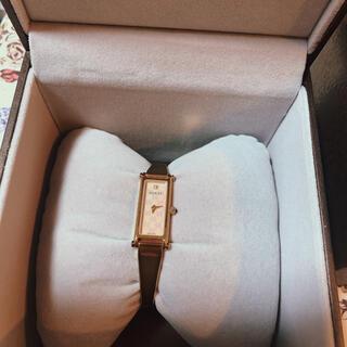 グッチ(Gucci)のGUCCI 1500 ピングゴールド 腕時計(腕時計)