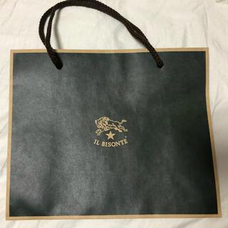 イルビゾンテ(IL BISONTE)のイルビゾンテショップ袋(ショップ袋)