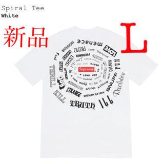 シュプリーム(Supreme)のSupreme Spiral Tシャツ L シュプリーム スパイラル(Tシャツ/カットソー(半袖/袖なし))