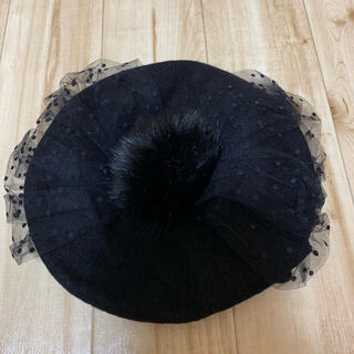 アンジェリックプリティー(Angelic Pretty)のAngelic Pretty Doll's Ribbonベレー(ハンチング/ベレー帽)