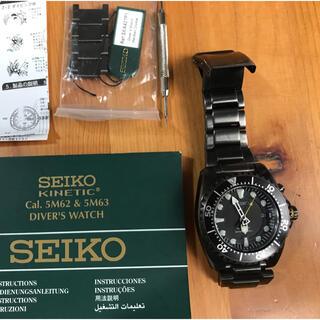 セイコー(SEIKO)のSEIKO キネティック 5M62 0BL0(腕時計(アナログ))