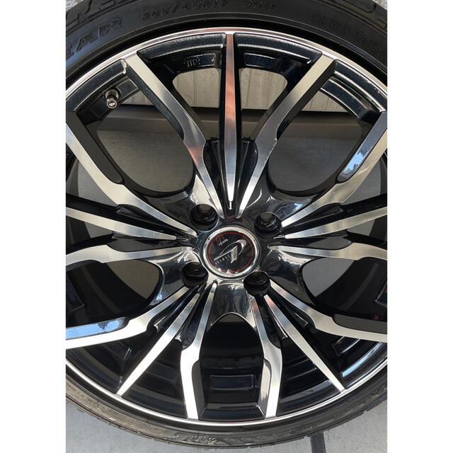 Goodyear(グッドイヤー)のレオニス WEDS 自動車/バイクの自動車(タイヤ・ホイールセット)の商品写真