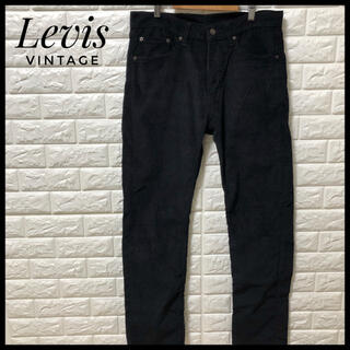 リーバイス(Levi's)のLevis デニムパンツ ブラック コーデュロイ メンズ(デニム/ジーンズ)
