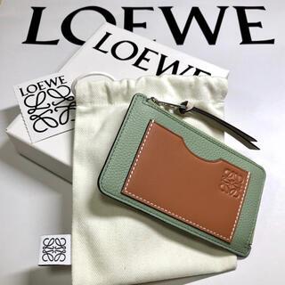 LOEWE - SALE!【本物・新品】ロエベ  コイン カードホルダー ローズマリー×タン