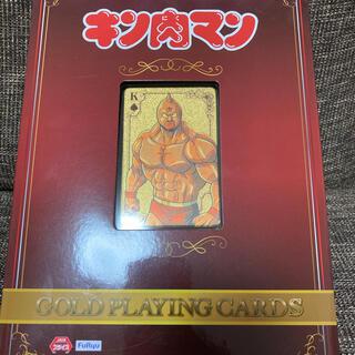 キン肉マン ゴールドトランプ  GOLD PLAYING CARDS (トランプ/UNO)