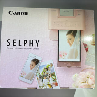 Canon - キヤノン Canon SELPHY CP1300 PKセルフィー ピンク