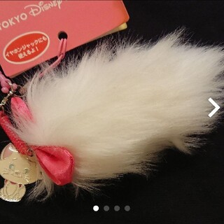 Disney - マリー☆ディズニー☆携帯クリーナー☆スマホクリーナー☆イヤホンジャック