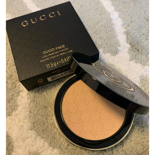 グッチ(Gucci)の日本未発売★GUCCI FACE POWDER 030★グッチ フェイスパウダー(フェイスパウダー)