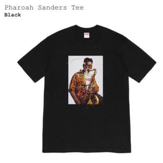 シュプリーム(Supreme)のSupreme Pharoah Sanders Tee Large Black(Tシャツ/カットソー(半袖/袖なし))