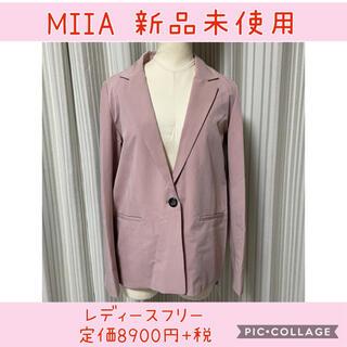 ミーア(MIIA)の046 ミーア スプリングジャケット ピンク(スプリングコート)