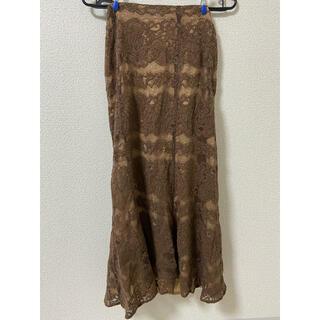 ドゥドゥ(DouDou)のDouDouロングスカート 美品(ロングスカート)