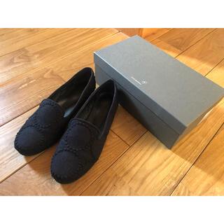 ミナペルホネン(mina perhonen)のミナペルホネン  タンバリン シューズ(ローファー/革靴)