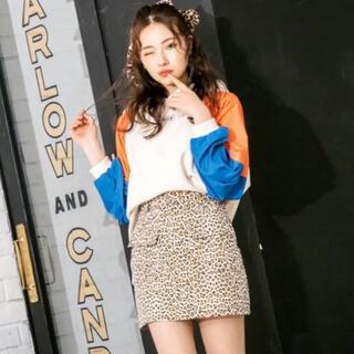 エヌエムビーフォーティーエイト(NMB48)のレオパードスカート andgeebee(ミニスカート)