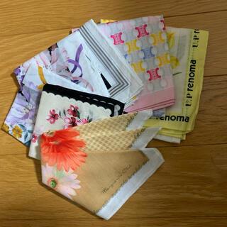 ユーピーレノマ(U.P renoma)のハンカチ7枚まとめ売り(ハンカチ)