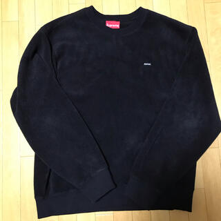 シュプリーム(Supreme)のSupreme Polartec Small Box Logo Crewneck(スウェット)