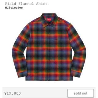 Supreme - Supreme Plaid Flannel Shirt Multicolor L