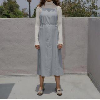 エディットフォールル(EDIT.FOR LULU)のBaserange yumi apron dress(ロングワンピース/マキシワンピース)