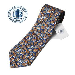 J.PRESS - 《ジェイプレス》新品 英国生地 シルク100% ペイズリー柄ネクタイ プレゼント