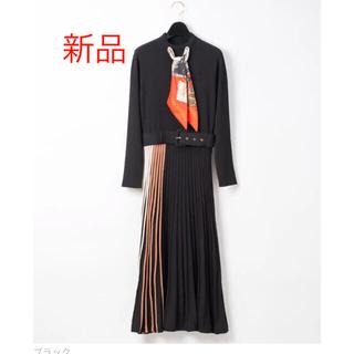 GRACE CONTINENTAL - 【新品】スカーフニットワンピース
