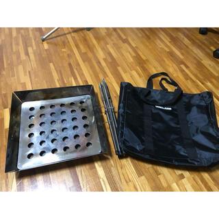 ユニフレーム(UNIFLAME)のユニフレーム 焚き火台 専用バッグ付き(ストーブ/コンロ)
