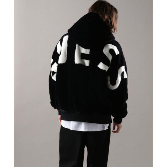 GUESS(ゲス)のGUESS ファーブルゾン L メンズのジャケット/アウター(ブルゾン)の商品写真