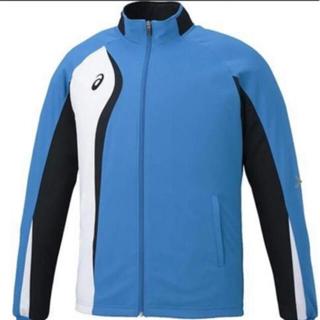 asics - 新品 asics  アシックス トレーニングジャケット M  ブルー
