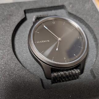 ガーミン(GARMIN)のvivomove STYLE ブラック GARMIN(腕時計(デジタル))
