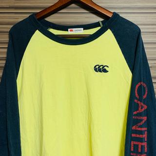 カンタベリー(CANTERBURY)のcanterbury カンタベリー ラグラン ロンT スリーブロゴ Lサイズ(Tシャツ/カットソー(七分/長袖))