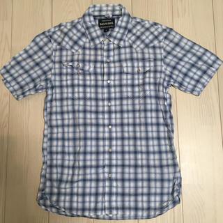 バックナンバー(BACK NUMBER)のBack Number 半袖シャツ メンズ チェックシャツ(シャツ)