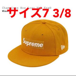 シュプリーム(Supreme)のsupreme Champions Box Logo New Era 7-3/8(キャップ)
