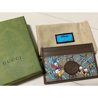 グッチ(Gucci)の新品未使用 Disney x GUCCI ドナルドダック カードケース(パスケース/IDカードホルダー)