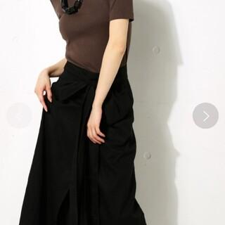 アズールバイマウジー(AZUL by moussy)のAZULBYMOUSSY 巻きスカート(ロングスカート)