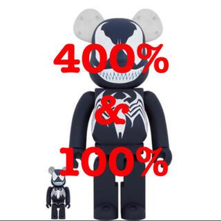 メディコムトイ(MEDICOM TOY)のBE@RBRICK VENOM 100%/400%(その他)
