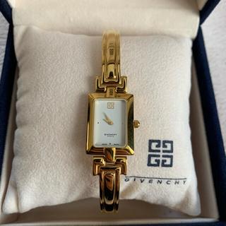 ジバンシィ(GIVENCHY)のgivenchy ゴールド 腕時計 バングル(腕時計)