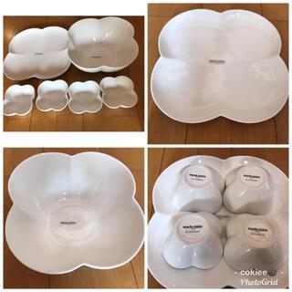 マリクレール(Marie Claire)の送料込!箱付きマリクレール食器6点セットmarie claireボール平皿小鉢(食器)