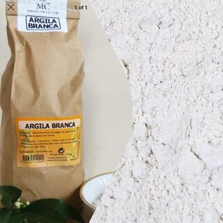 ポルトガル産 100%ナチュラル ホワイトクレイ パウダー 150g(パック/フェイスマスク)
