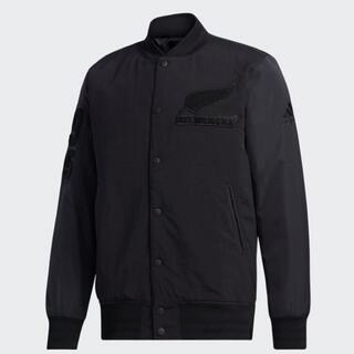 アディダス(adidas)の【アディダス】オールブラックス2020 ジャケット スタジャン(スタジャン)