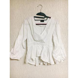 スピーガ(SPIGA)のトップス ダンス衣装 白 【SPIGA】(カットソー(長袖/七分))