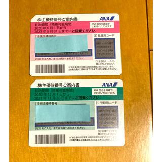 エーエヌエー(ゼンニッポンクウユ)(ANA(全日本空輸))のANA 全日空 株主優待券 2枚セット(その他)