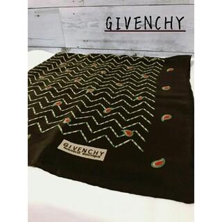 ジバンシィ(GIVENCHY)のGIVENCHY  ペイズリー柄  スカーフ  (バンダナ/スカーフ)