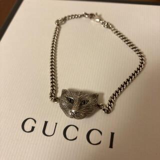 Gucci - GUCCI ガーデン キャット ブレスレット