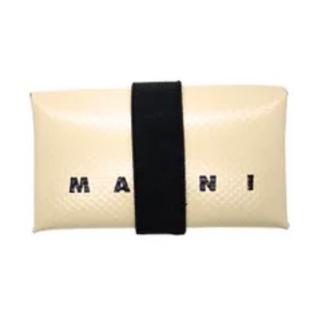 Marni - ★新品★ 【MARNI】ロゴ カードケース ミニ財布