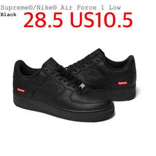 シュプリーム(Supreme)のSupreme Nike Air Force 1 af1 21SS black(スニーカー)