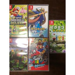 ニンテンドースイッチ(Nintendo Switch)のSwitch ソフト 5つまとめ売り(家庭用ゲームソフト)