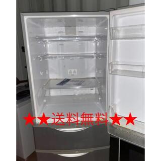 サンヨー(SANYO)の激安!早い者勝ち!家庭用冷蔵庫!2007☆送料無料☆(冷蔵庫)