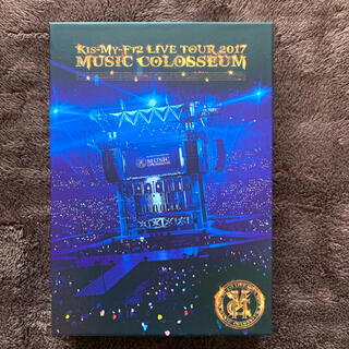 Kis-My-Ft2 - LIVE TOUR 2017 MUSIC COLOSSEUM(初回盤) DVD