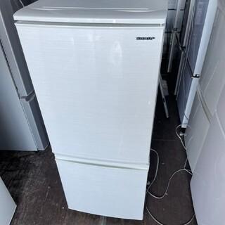 SHARP - SHARP 2ドア冷蔵庫 137L 💍2019年製💍 ホワイト